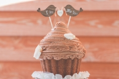 Love Bird's Large Cupcake Topper